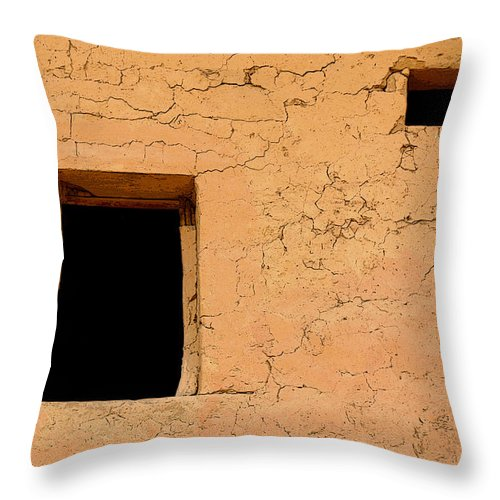 Adobe Throw Pillow featuring the photograph Mysterious Places by Joe Kozlowski