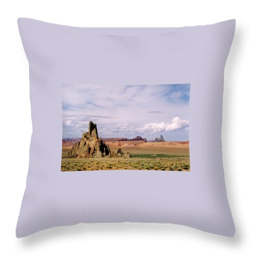 Arizona Throw Pillow featuring the photograph Mystery Valley by Cathy Franklin