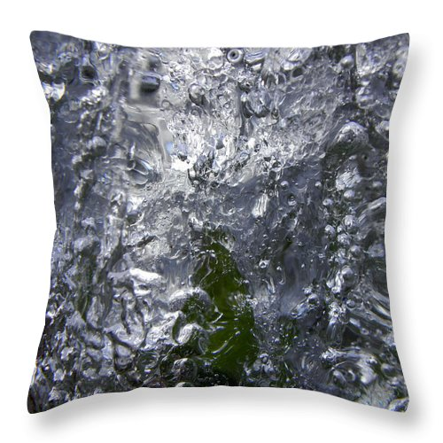 Forest Throw Pillow featuring the photograph Mystical Forest 1 by Sami Tiainen