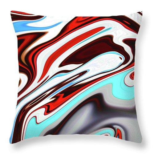 Aqua Throw Pillow featuring the photograph Native by Molly McPherson
