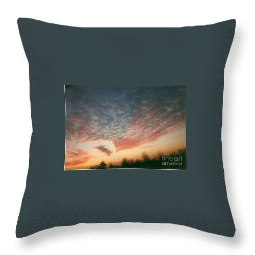 Landscape Throw Pillow featuring the photograph Natures Palette by Stephen King