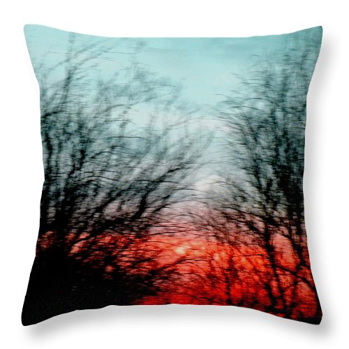 Symphony Throw Pillow featuring the photograph Memory Over Matter No 2 by M Pace