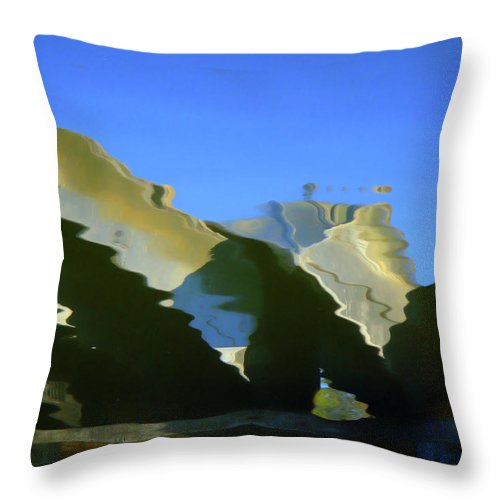 Water Throw Pillow featuring the photograph Nautical by Donna Blackhall