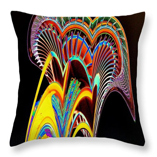 Seattle Throw Pillow featuring the photograph Needle On The Loose by Tim Allen