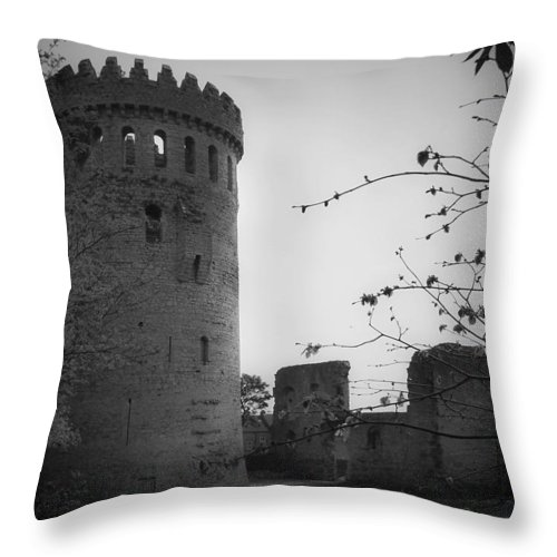 Ireland Throw Pillow featuring the photograph Nenagh Castle County Tipperary Ireland by Teresa Mucha