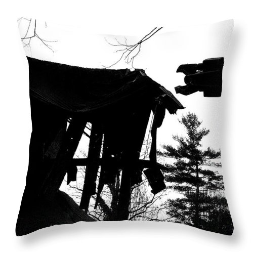 Machine Throw Pillow featuring the photograph Nessie by Jean Macaluso