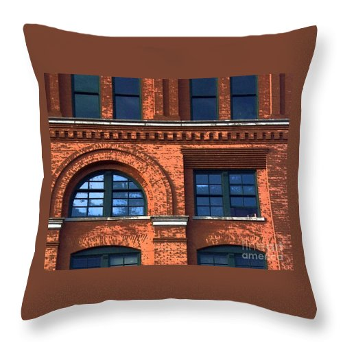 6th Floor Museum Throw Pillow featuring the photograph Never Forget Jfk by Debbi Granruth