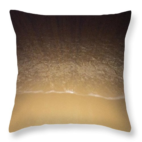 Throw Pillow featuring the photograph Night Reflections by Connor Edwards
