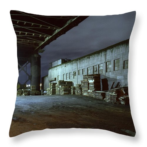Nightscape Throw Pillow featuring the photograph Nightscape 1 by Lee Santa