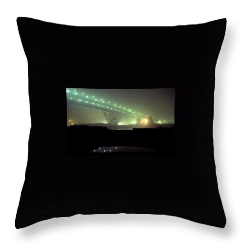 Night Photo Throw Pillow featuring the photograph Nightscape 3 by Lee Santa