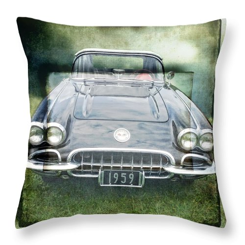 Alicegipsonphotographs Throw Pillow featuring the photograph Nineteen Fiftynine by Alice Gipson