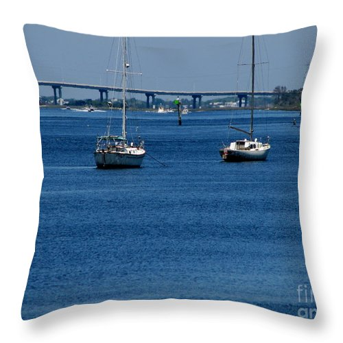 Patzer Throw Pillow featuring the photograph No Yard Work by Greg Patzer