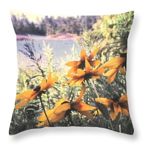 North Channel Throw Pillow featuring the photograph North Channel Beauties by Ian MacDonald