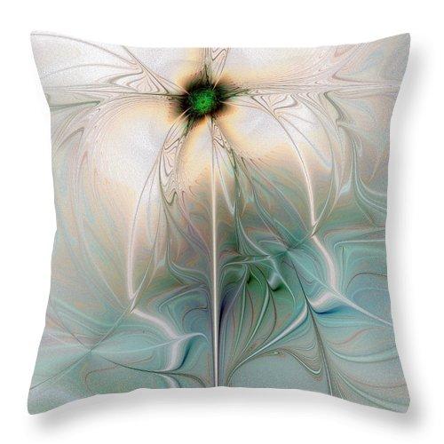 Digital Art Throw Pillow featuring the digital art Nostalgia by Amanda Moore