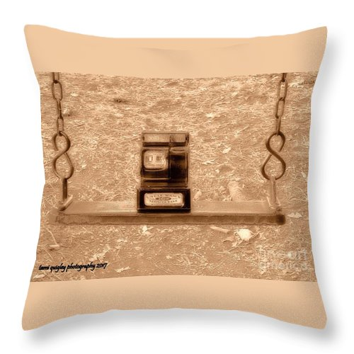 Nostalgic Throw Pillow featuring the photograph Nostalgic Change by Tami Quigley