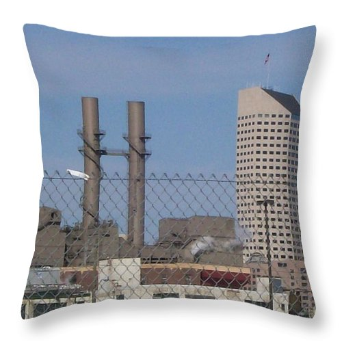 Landscape Throw Pillow featuring the photograph Not My White Flag by Stephen King