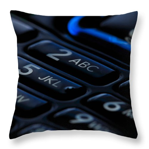 Close-up Throw Pillow featuring the photograph Numbered by Noah Cole