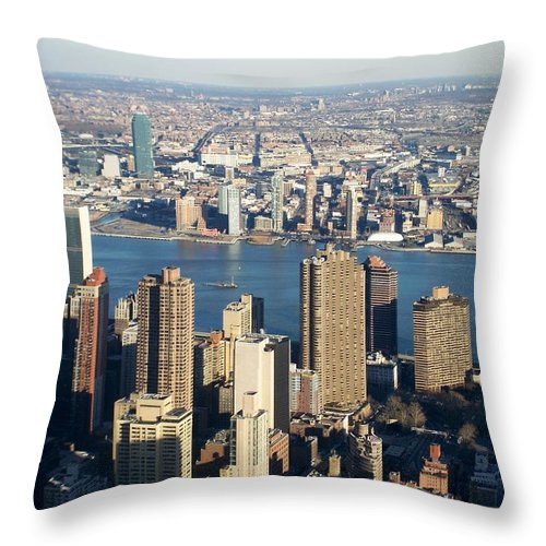 Nyc Throw Pillow featuring the photograph Nyc 6 by Anita Burgermeister