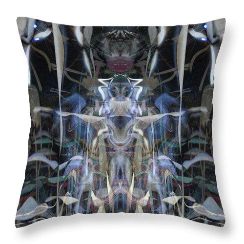 Deep Throw Pillow featuring the digital art Oa-4361 by Standa1one