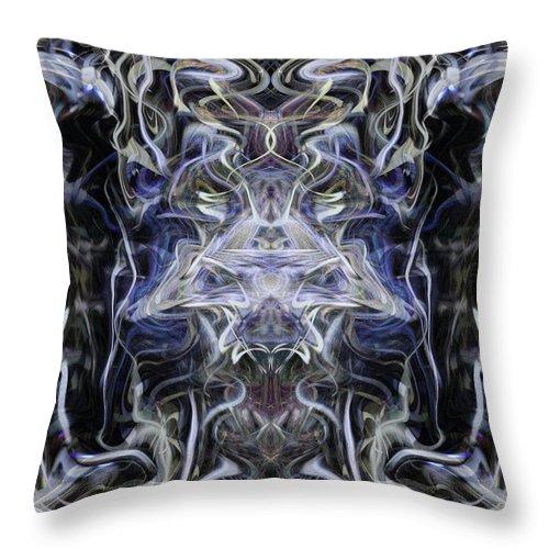 Deep Throw Pillow featuring the digital art Oa-4363 by Standa1one