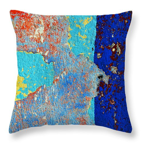 Skip Throw Pillow featuring the photograph Occupation by Skip Hunt