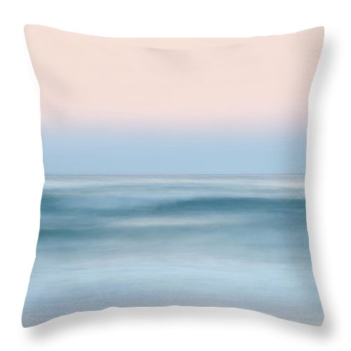 Beach Throw Pillow featuring the photograph Ocean Calling by Az Jackson