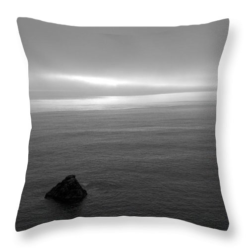 Ocean Throw Pillow featuring the photograph Ocean by Jessica Wakefield