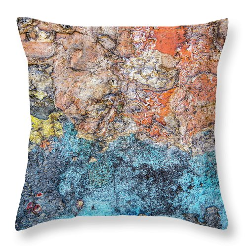 Colours Throw Pillow featuring the photograph Ocean Of Dreams by Isabella Biava