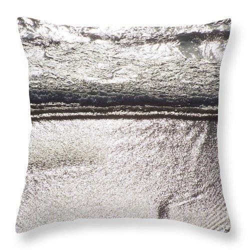 Ocean Throw Pillow featuring the photograph Ocean Of Light by Brian Commerford