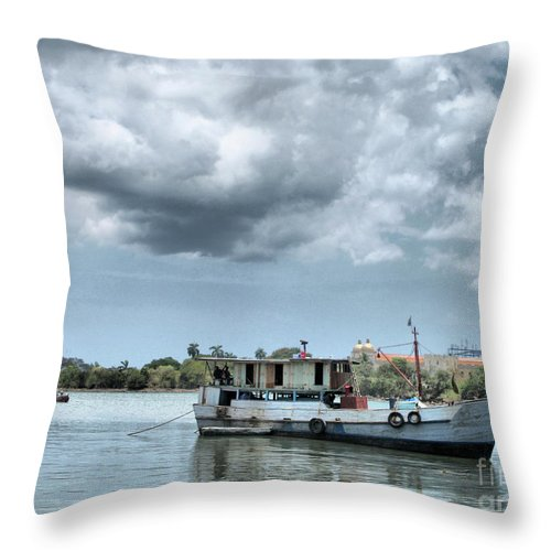 Panama Throw Pillow featuring the photograph Old Beauty by Onedayoneimage Photography