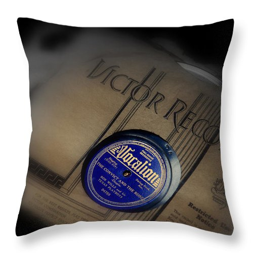Photography Throw Pillow featuring the photograph Old Memories by Susanne Van Hulst