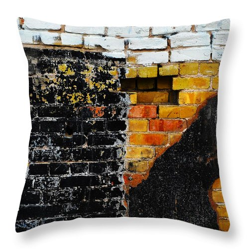 Skip Hunt Throw Pillow featuring the photograph Omen by Skip Hunt