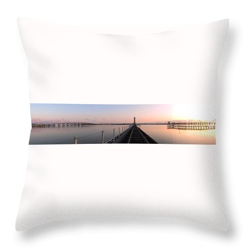 180 Degrees Throw Pillow featuring the photograph One Hundred Eighty Degrees by Beth Williams