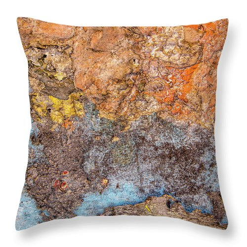 Colours Throw Pillow featuring the photograph Orange Is The New Hit by Isabella Biava