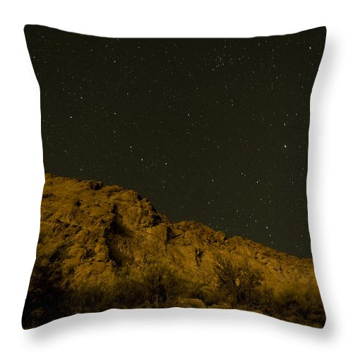 Arizona Throw Pillow featuring the photograph Orange Mountains by Rachael Armstead