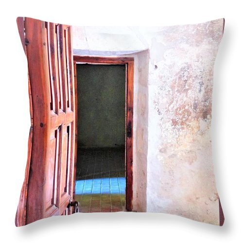 Throw Pillow featuring the photograph Other Side by Pablo Munoz