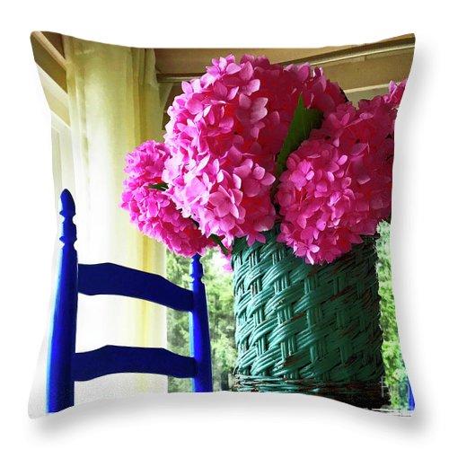 Still Life Throw Pillow featuring the photograph Otisco Morning by Rick Locke