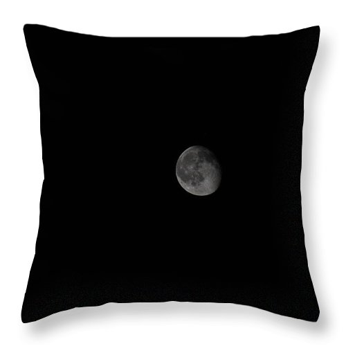 Sky Throw Pillow featuring the photograph Over The Moon by StudioBoldt  Photography