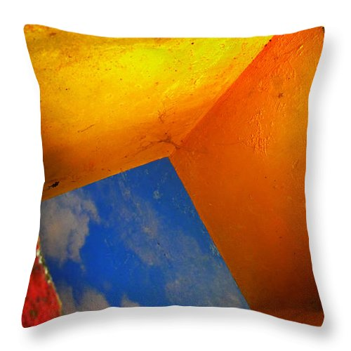 Skip Hunt Throw Pillow featuring the photograph Over The Rainbow by Skip Hunt