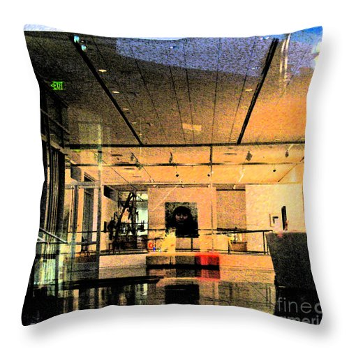 Interior Throw Pillow featuring the photograph Overture In by Gary Everson