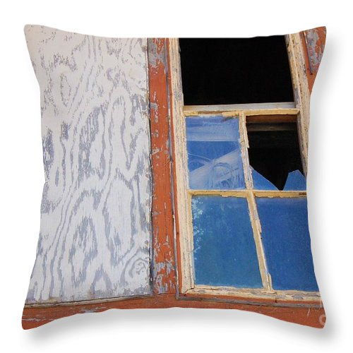 Window Throw Pillow featuring the photograph Painless by Debbi Granruth