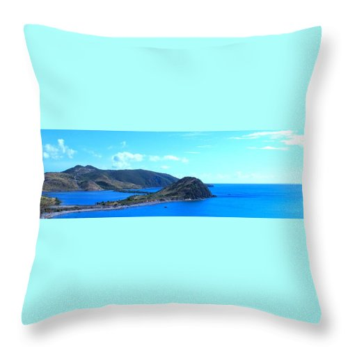 St Kitts Throw Pillow featuring the photograph Panhandle by Ian MacDonald