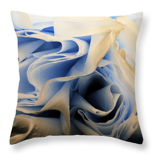 Paper Throw Pillow featuring the photograph Paper by Jessica Wakefield