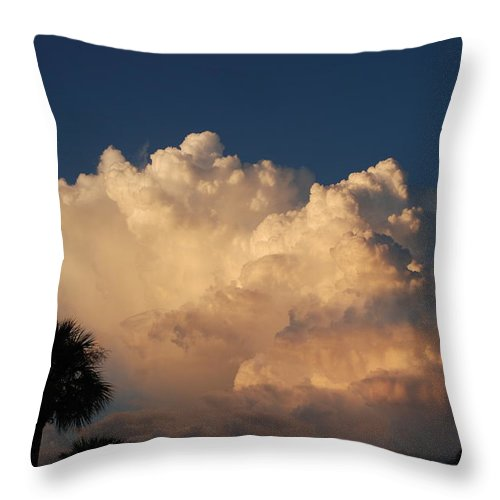 Clouds Throw Pillow featuring the photograph Paradise by Rob Hans