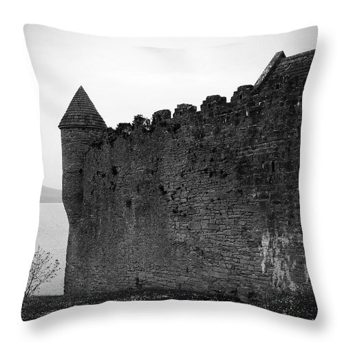Ireland Throw Pillow featuring the photograph Parkes Castle County Leitrim Ireland by Teresa Mucha