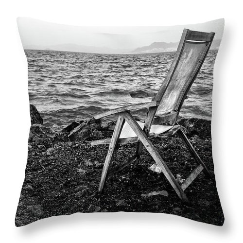Memories Throw Pillow featuring the photograph Passing Memory by Philip Openshaw