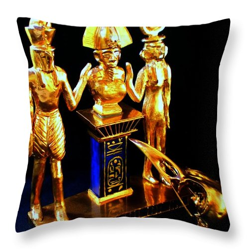 Times Throw Pillow featuring the photograph Past Times by Helmut Rottler