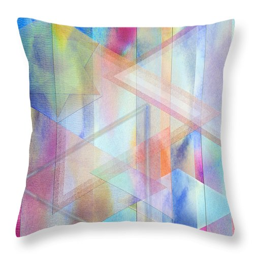 Pastoral Moment Throw Pillow featuring the digital art Pastoral Moment by John Beck