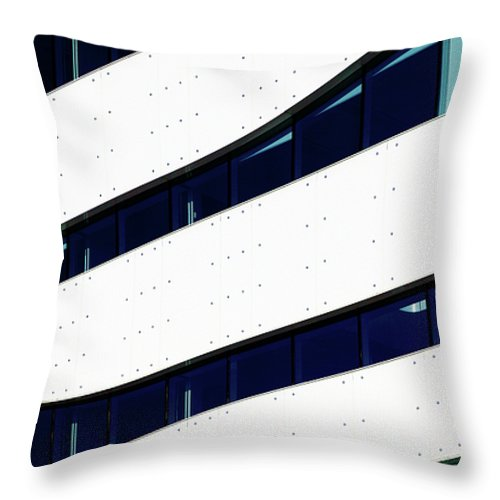 Office Throw Pillow featuring the photograph Patterns II by Stefan Nielsen