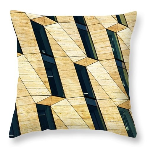 Office Throw Pillow featuring the photograph Patterns by Stefan Nielsen